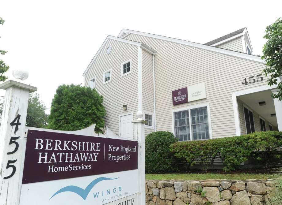 Berkshire Hathaway HomeServices New England Properties at 455 Post Road, Darien. The company placed first in the Top Workplaces survey in the large company category by Hearst Connecticut Media. Photo: Bob Luckey Jr. / Hearst Connecticut Media / Greenwich Time