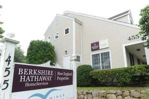 Berkshire Hathaway HomeServices New England Properties at 455 Post Road, Darien. The company placed first in the Top Workplaces survey in the large company category by Hearst Connecticut Media.