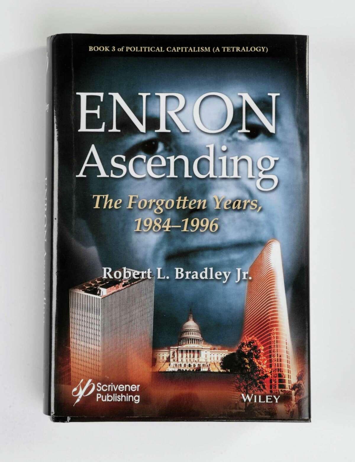 """Enron Ascending,"" by Robert Bradley, Jr., photographed in the Houston Chronicle studio, Tuesday, Sept. 25, 2018, in Houston."