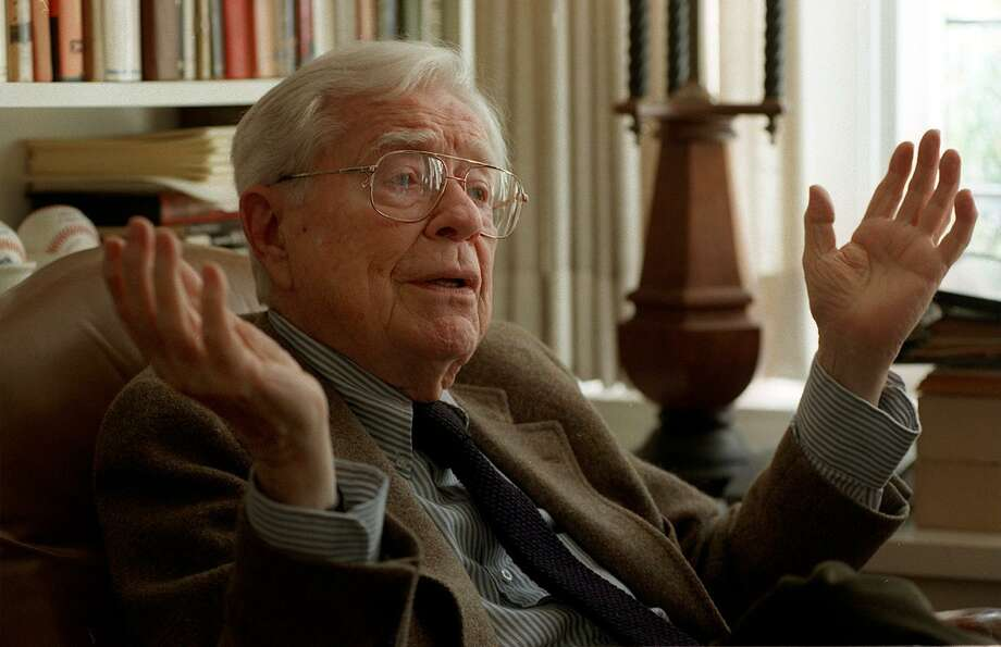 The now late former Mayor Richard C. Lee at home in Westville section of New Haven during an interview with the Register in 1998. Photo: Hearst Connecticut Media File Photo /