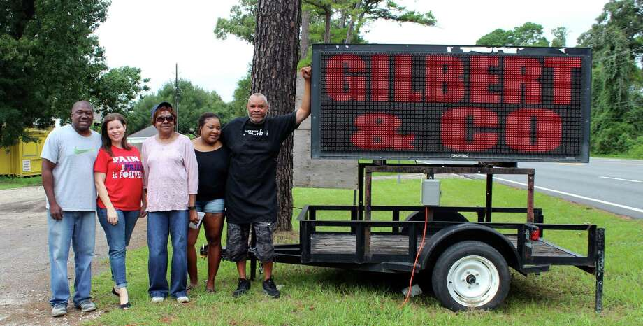 From left to right: Shawn Gilbert, Tricia Gilbert, Ida Burns-Gilbert, Sharice Gilbert and Andre Burns. Photo: Kaila Contreras