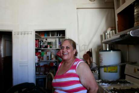 Virginia Ramos, a.k.a. The Tamale Lady, in her kitchen in 2012. Photo: Mike Kepka / The Chronicle