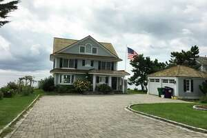A beach house in Madison owned by Republican Bob Stefanowski