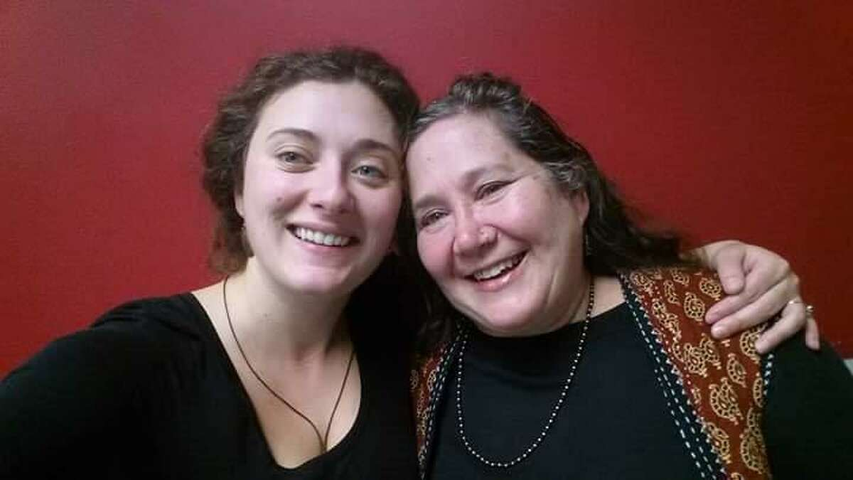 Linda Yanonne, one of the Connecticut residents who has benefited from Medicaid expansion, and her daughter Corianna.