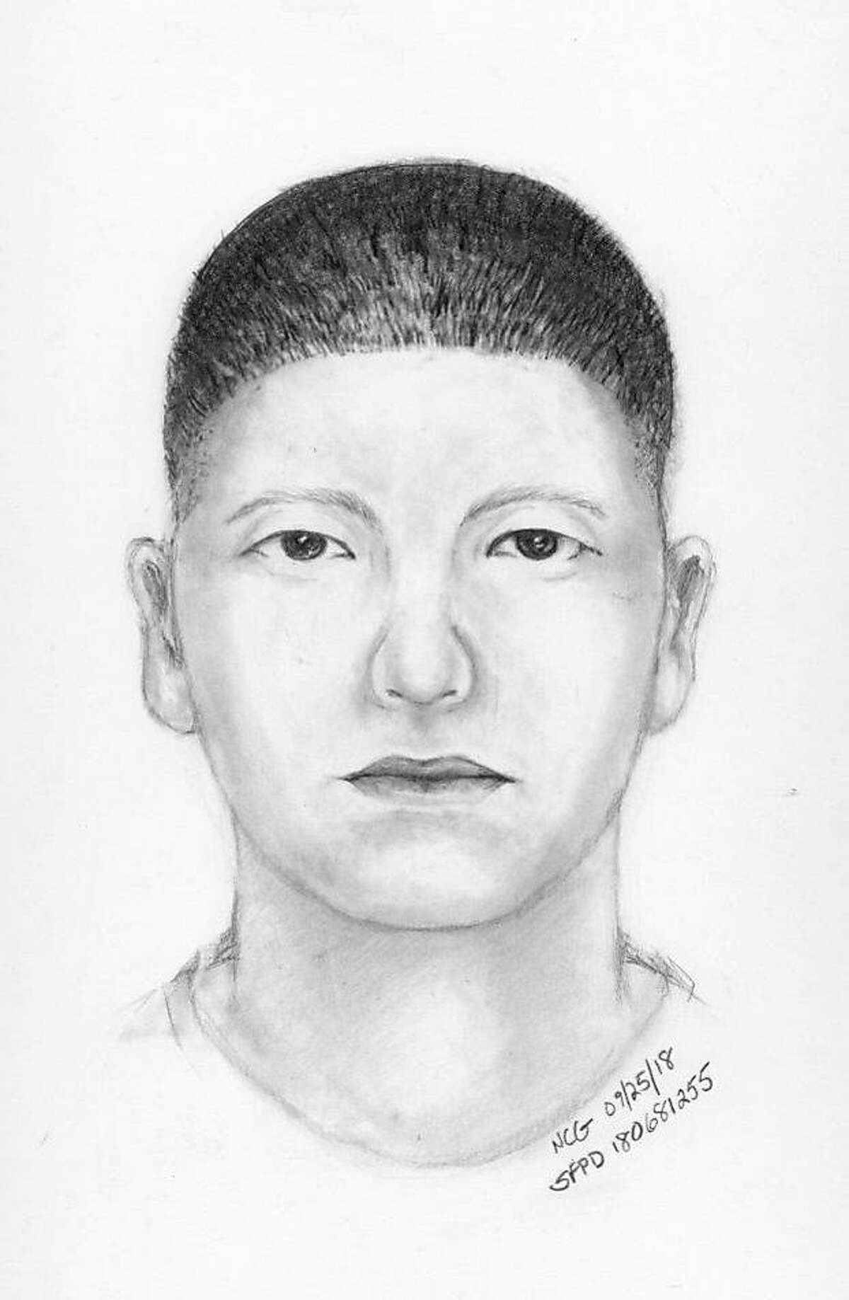 Police have released this sketch of the suspect.