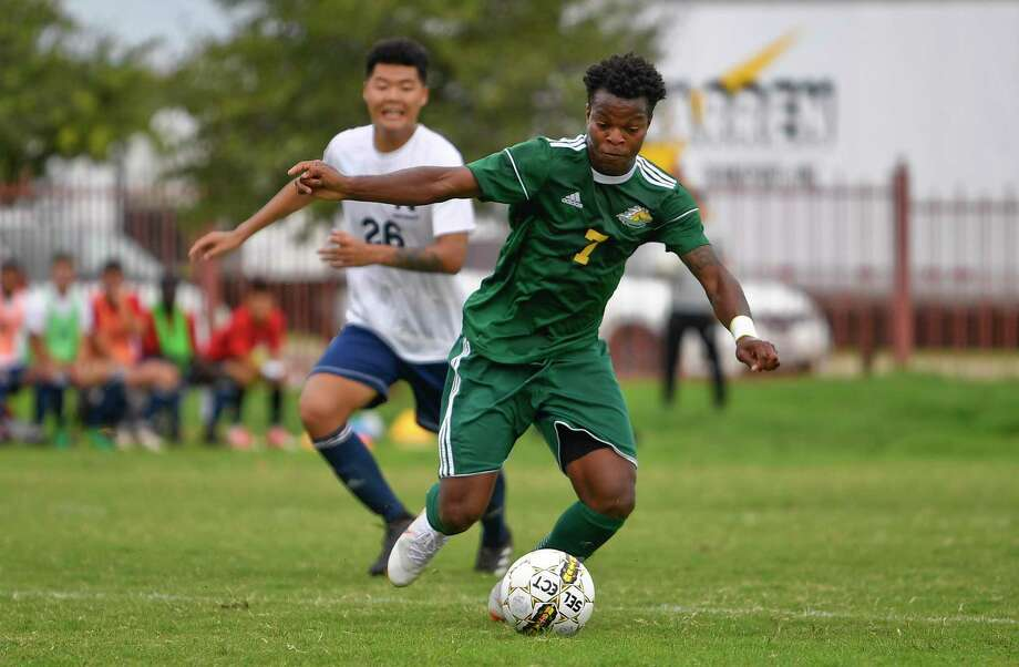 The Laredo College soccer team will take on Blinn College in its opening round postseason match Wednesday at 3 p.m. The Palominos beat Blinn 4-2 and 6-0 in their two matches against the Region XIV foe this season. Photo: Danny Zaragoza /Laredo Morning Times File / Laredo Morning Times
