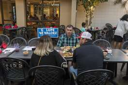 Miguel Suazo stopped at La Bodega in Odessa for a meet and greet Tuesday. 9/25/2018 Jacy Lewis/191 News