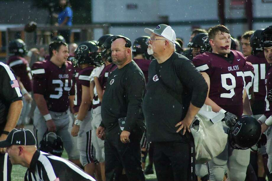 Pearland football coach Ricky Tullos hopes to pick up a win against his former team when the Oilers travel Friday to George Ranch. Photo: Kirk Sides / Houston Chronicle / © 2018 Kirk Sides / Houston Chronicle