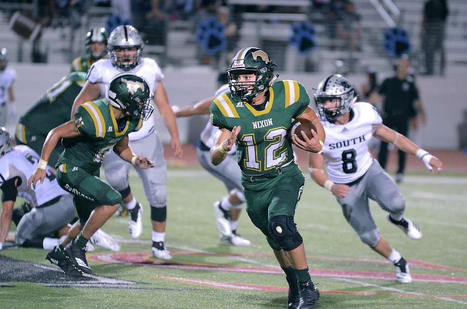 Nixon senior Joseph Ibarra has 430 yards rushing and six touchdowns through four games. Photo: Cuate Santos /Laredo Morning Times / Laredo Morning Times