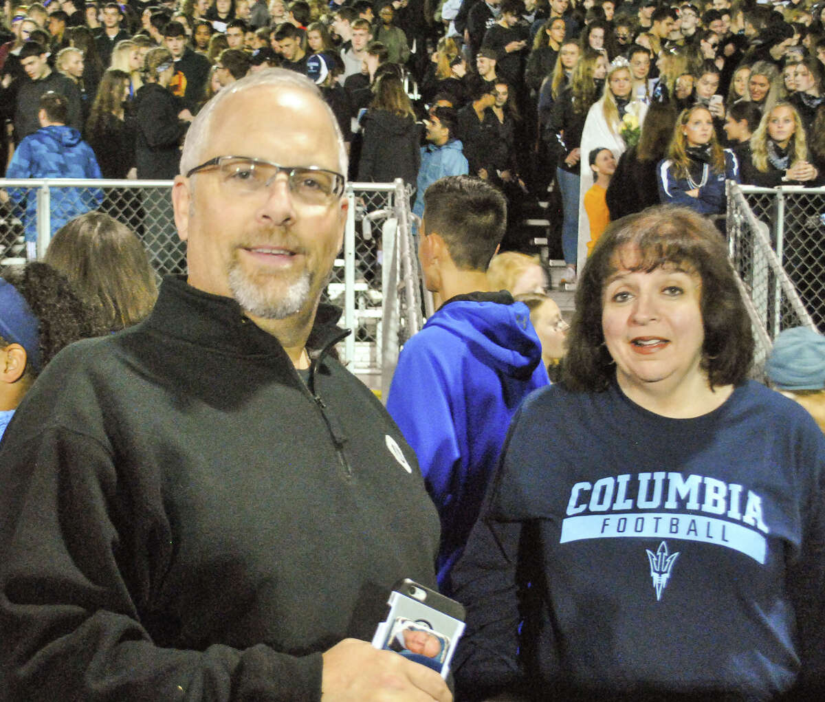 Were you Seen at the Columbia vs. Averill Park high school football game Sept. 28, 2018, at Columbia High School in East Greenbush, NY?