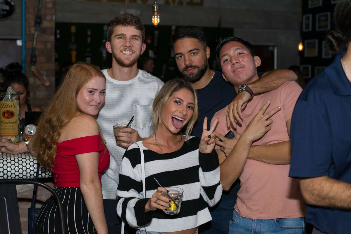 San Antonio welcomed a new bar Friday, September, 28, 2018, when SandBox opened its doors for drinks inside the main bar.