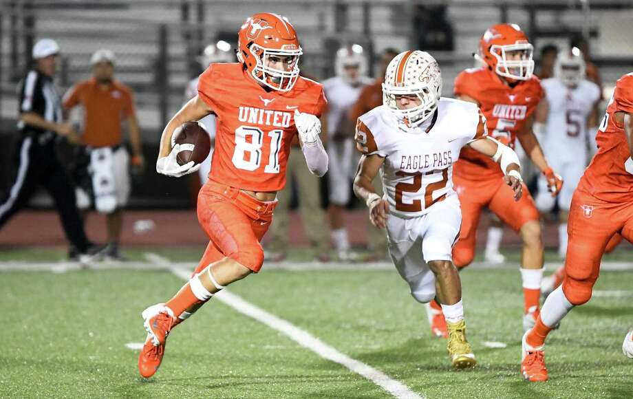 United High School played a game against Eagle Pass High School on Friday, Sept. 28, 2018, at the Bill Johnson Student Activity Complex. Photo: Danny Zaragoza /Laredo Morning Times