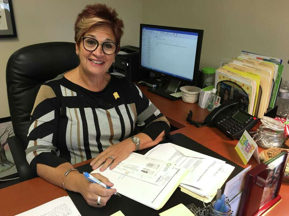 Mary Ellen Hass, chief operating officer at Children & Family's Agency, poses for a portrait on Sept. 28, 2018. The organization offers domestic violence, homeless and drug addiction services to Faifield County residents on a sliding scale. Photo: Contributed Photo / Contributed Photo / Norwalk Hour contributed