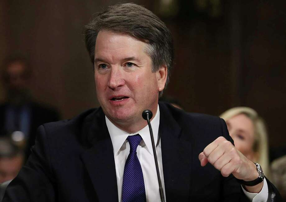 Supreme Court nominee Brett Kavanaugh testifies before the Senate Judiciary Committee on Capitol Hill in Washington, Thursday, Sept. 27, 2018. (Win McNamee/Pool Photo via AP) Photo: Win McNamee / 2018 Getty Images