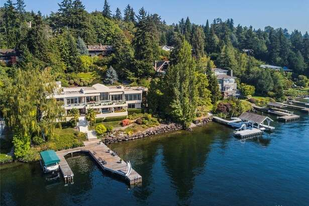 Take a tour of the modern Mercer Island mansion, asking $10.5 M