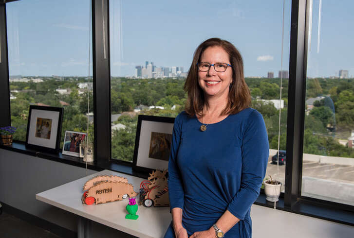 Carolyn Nichol, director of Rice University's Office of STEM Engagement, or R-STEM.
