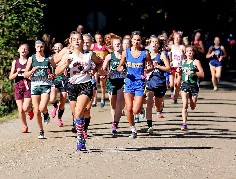 Wagener Park Invitational — Girls Race Photo: Paul P. Adams/Huron Daily Tribune