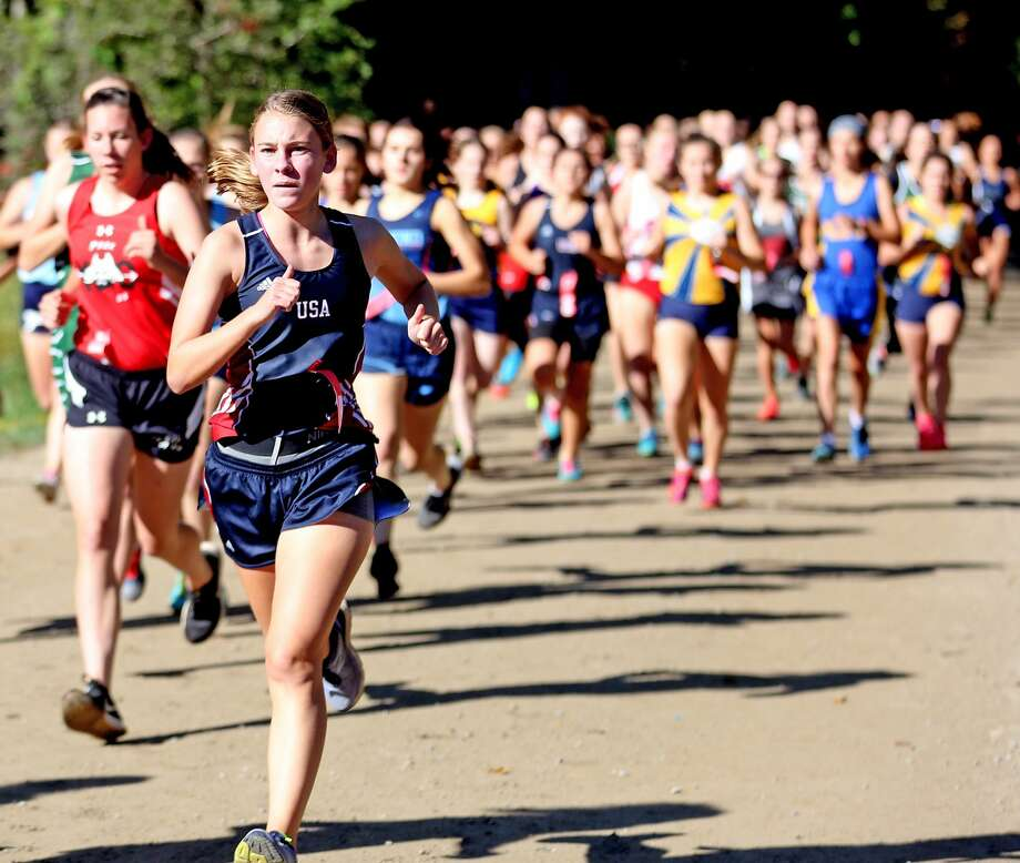 Wagener Park Invitational — Girls Race Photo: Paul P. Adams/Huron Daily Tribune