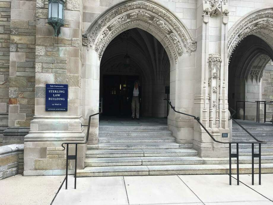 The Yale Law School in New Haven. Photo: Edward Stannard / Hearst Connecticut Media