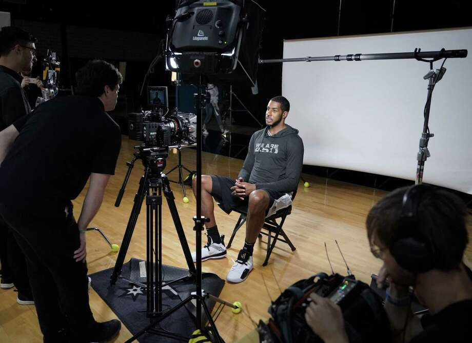 For the first time, the organization is looking to hire a full-time photographer who will shoot photos and videos at everything from games to community events in and out of San Antonio. Photo: Darren Abate, FRE / Associated Press / FR115 AP