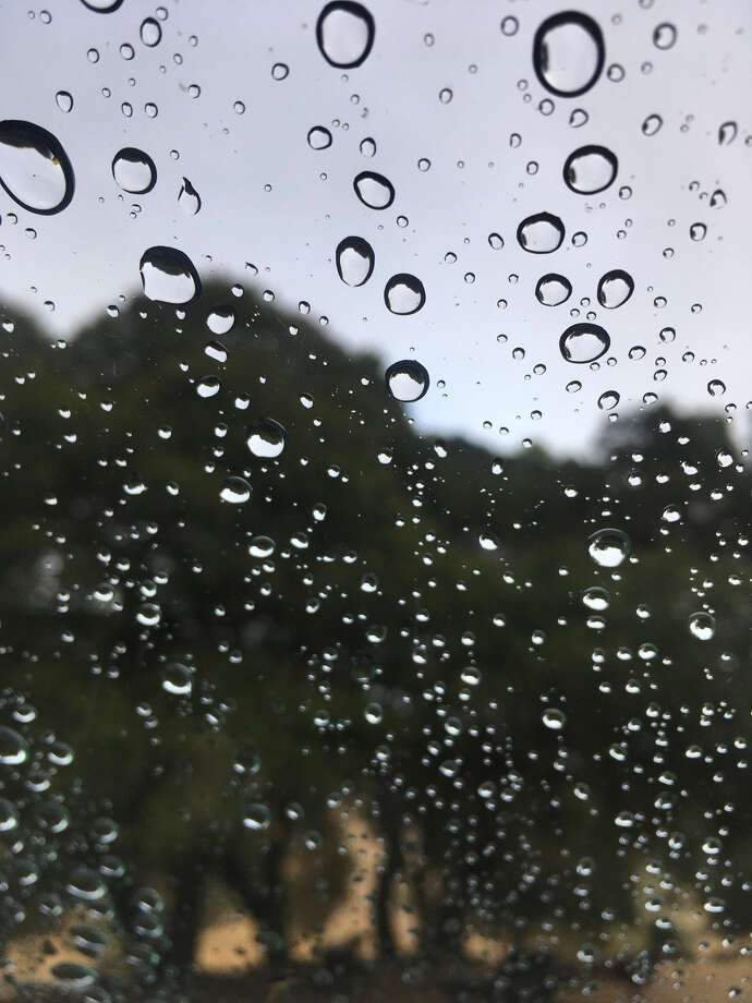 Rain fell for the first time in nearly six months on Saturday, Sept. 29 in the Bay Area, sprinkling parts of the North Bay. This photo shows rain on a windshield in Santa Rosa. Photo: Doug Zimmerman/SFGATE