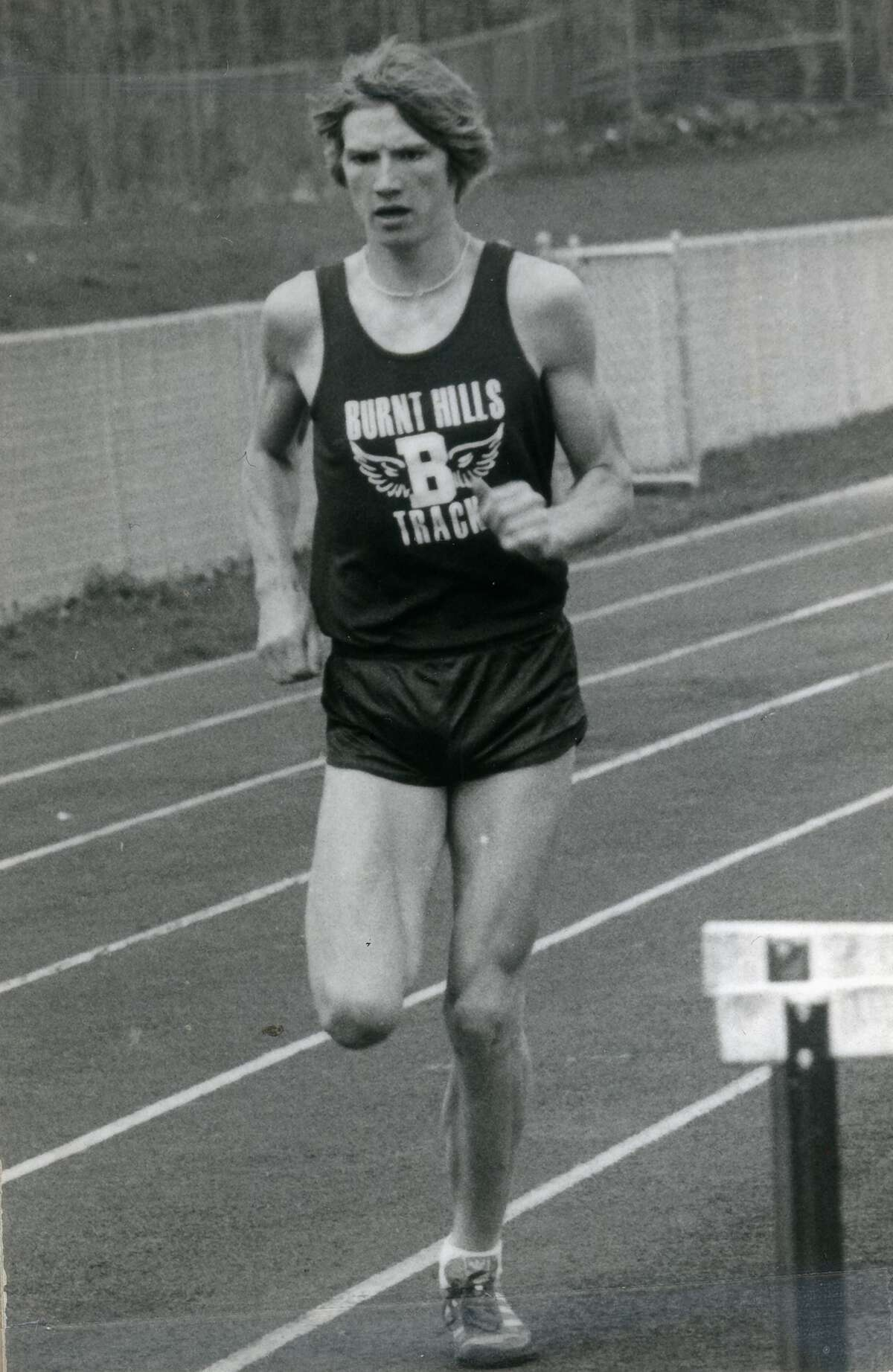 Record-setting runner Miles Irish of Burnt Hills, who is being inducted into the Capital Region Track. Field and Cross Country Hall of Fame. (Courtesy photo)