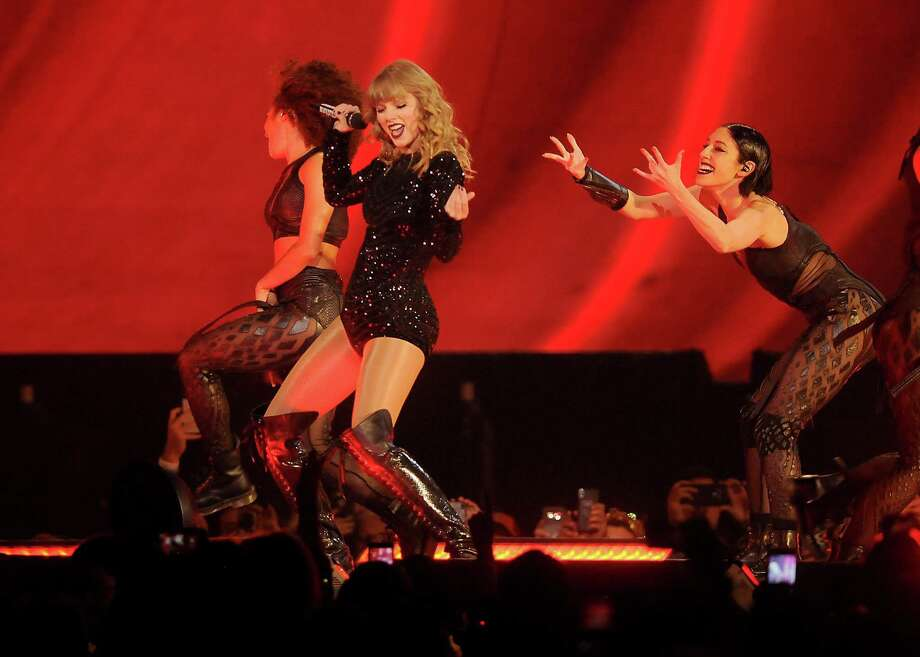 Taylor Swift performs during her reputation Stadium Tour at NRG Stadium Saturday Sept.29, 2018. Photo: Dave Rossman, Contributor / 2018 Dave Rossman