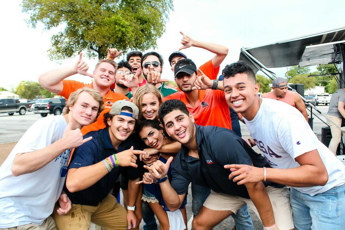 Before watching the University of Texas at San Antonio win against The University of Texas at El Paso, Roadrunners enjoyed pre-game festivities Saturday, Sept. 29, 2018 at the Alamodome.