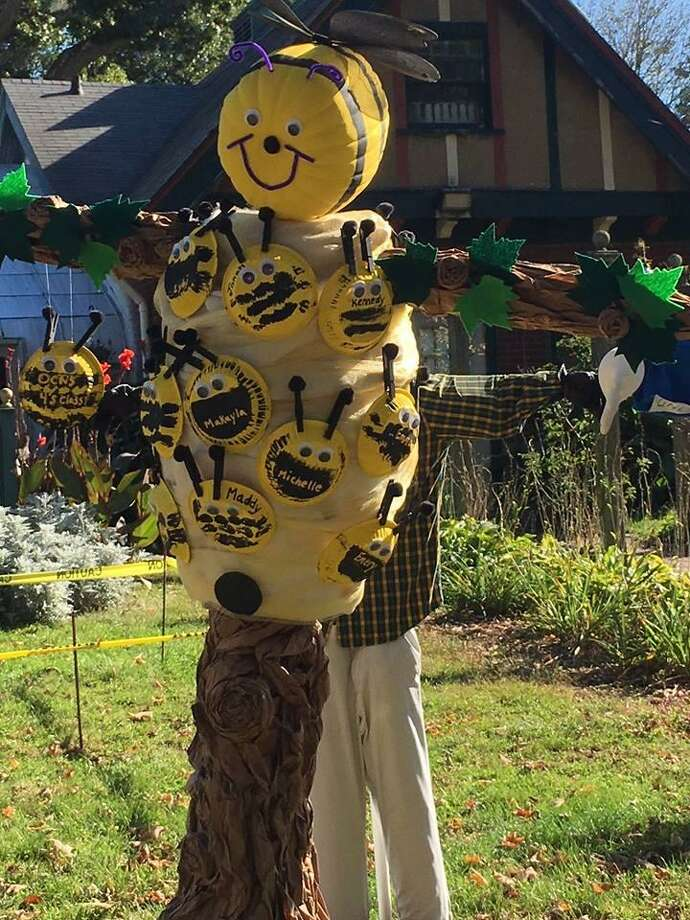 Connecticut's Beardsley Zoo, 1875 Noble Ave., Bridgeport is hosting its 11th Annual Scarecrow Competition throughout October, 2018. Photo: Contributed / Connecticut's Beardsley Zoo