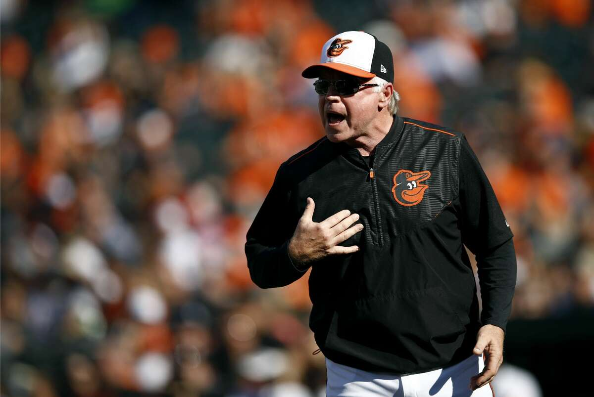 Buck ShowalterThe Astros interviewed Showalter on Jan. 15. It's hard to question the 63-year-old Showalter's credentials. His 1,551 career wins as a manager ranks 24th all-time, he's a three-time American League Manager of the Year and he's led the Yankees, Diamondbacks and Orioles to the postseason. However, he's more of an old-school baseball guy and has been critical of a lot of the analytics used in the modern game, which has been a big key to the Astros' recent success.