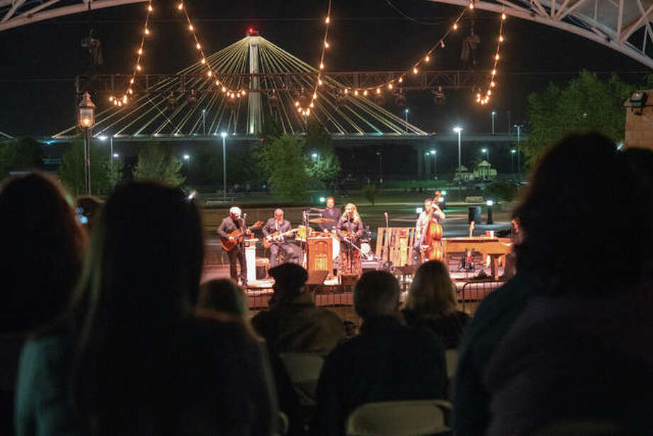 Grammy Award-winning country artist Alison Krauss performed Saturday evening at Liberty Bank Alton Amphitheater, with local bluegrass favorites The Harmans opening up the annual Feed the Need concert. Each ticket purchased will provide 10 meals for seniors in need through the Senior Services Plus, Inc. Meals on Wheels program. The concert will be a big boost to the program, as a healthy crowd packed the amphitheater's seats and lawn. Photo: Nathan Woodside | The Telegraph