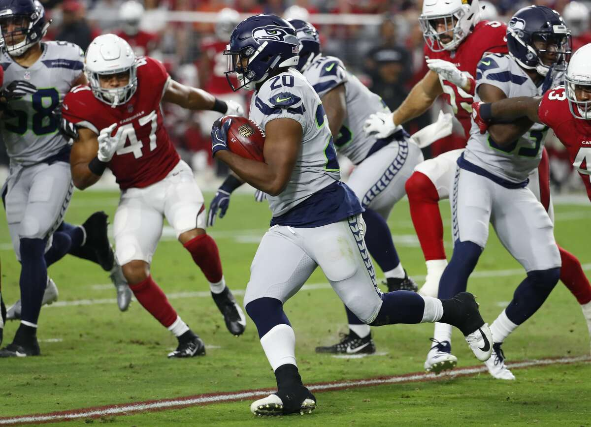 FIRST-ROUND PICK RASHAAD PENNY IS THE THIRD-STRING RB FOR NOW First-round pick Rashaad Penny didn't see any action in the back field against Rams, as he's fallen behind Mike Davis on the depth chart. Carroll explained Tuesday that there just weren't enough opportunities for the rookie on Sunday. He admitted that Penny lost ground when he broke his finger in the preseason, but reiterated that he's 100 percent healthy and just waiting for his chance to play.