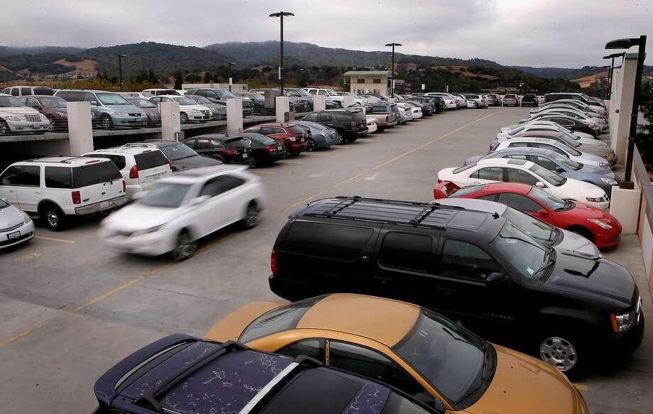 BART's West Dublin/Pleasanton parking lot. Photo: Michael Macor / The Chronicle