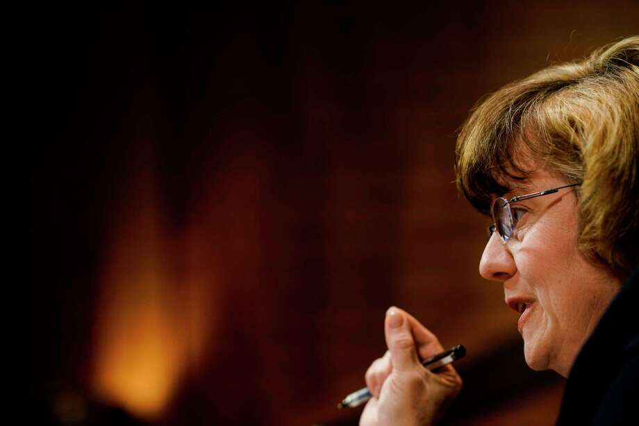 Rachel Mitchell at a Senate Judiciary Committee hearing on Thursday on Capitol Hill. Photo: Washington Post Photo By Melina Mara / The Washington Post