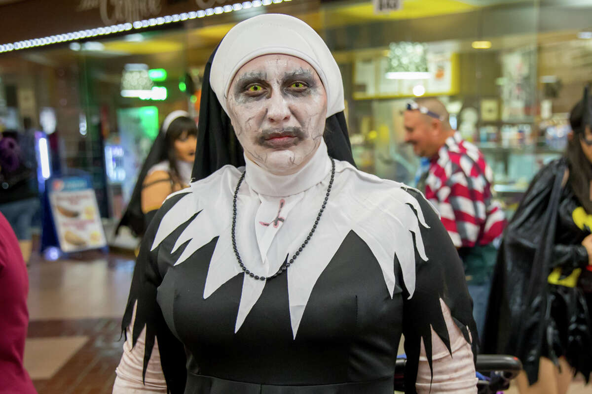 There were plenty of scares at Monster-Con held at the Wonderland of the Americas Mall on Sunday September 30, 2018.