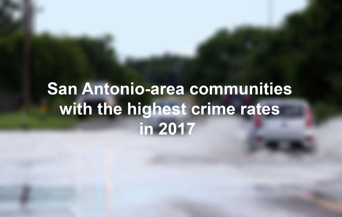 Click through the slideshow to see the most dangerous San Antonio-area communities in 2017, according to the FBI.Editor's Note: Each year the FBI releases its Unified Crime Report, which provides a comprehensive look at crime in communities across the United States. 2017 is the most recent complete year of data available.