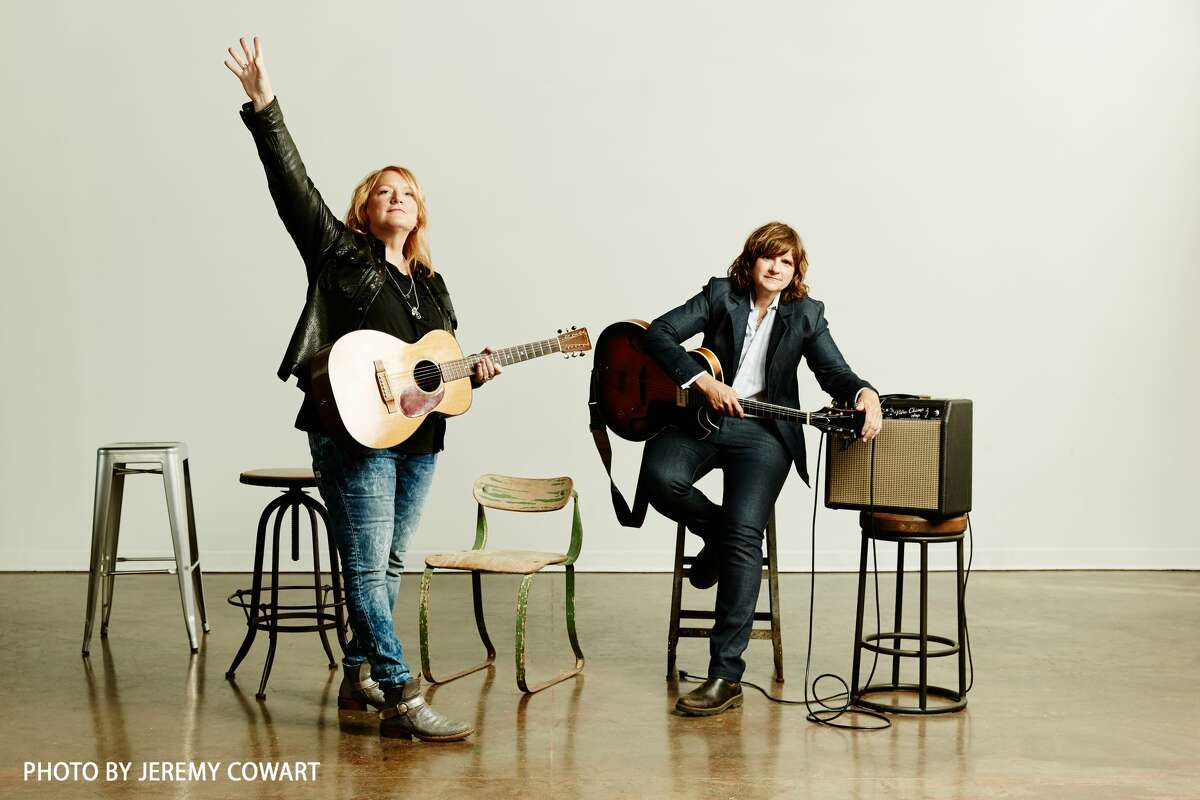 Grammy-winning folk duo the Indigo Girls are performing with the Midland Odessa Symphony and Chorale at 7:30 p.m. Saturday at the Wagner Noel Performing Arts Center.