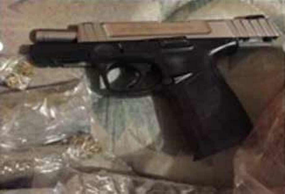Laredo Sector Border Patrol and the Webb County Sheriff's Office discovered marijuana, two firearms and ammunition located inside a residence in central Laredo. Photo: Courtesy