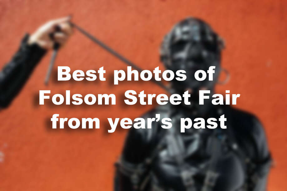 Best photos of Folsom Street Fair from year's past. Photo: Mason Trinca / The Chronicle