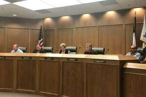Ector County Commissioners Court 9/24/18 in the Commissioners Courtroom at the Ector County Administration Building Annex.