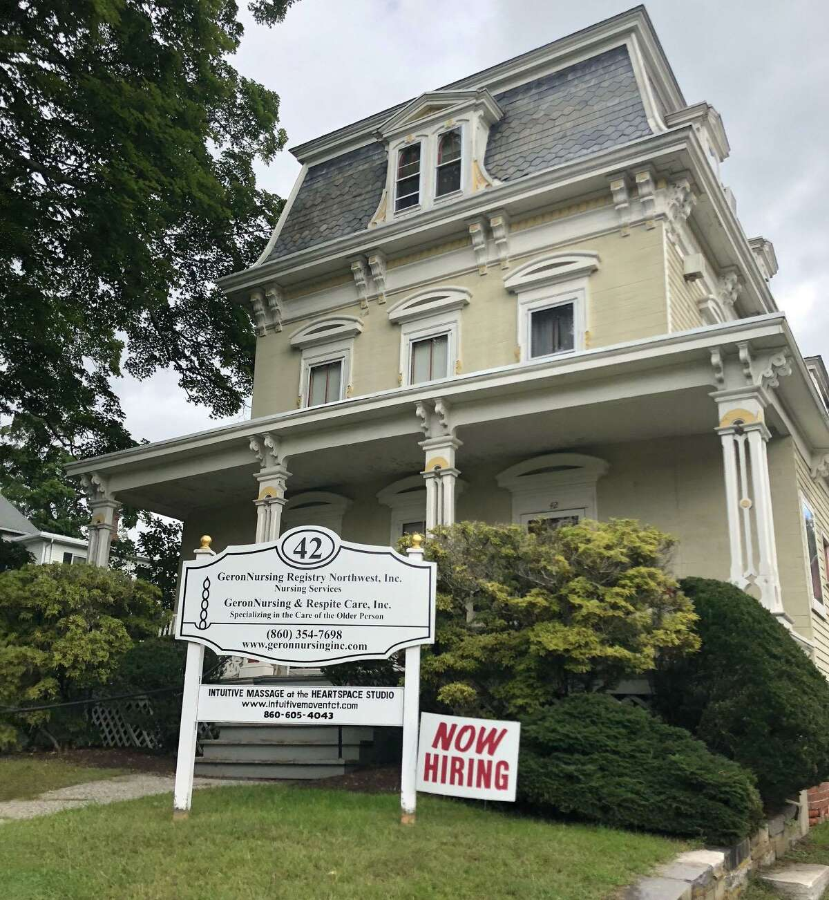 GeronNursing & Respite Care in New Milford is situated in an historic home at 42 Main St., overlooking the Village Green.