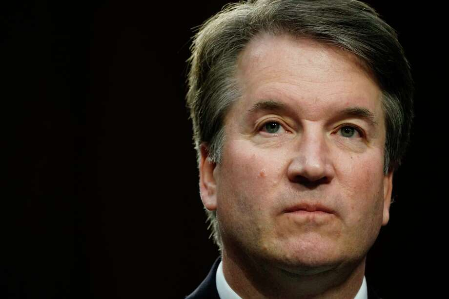 Supreme Court nominee Brett Kavanaugh listens during his conformation hearing in the Senate Judiciary Committee on September 4, 2018, in Washington. Photo: Washington Post Photo By Melina Mara / The Washington Post