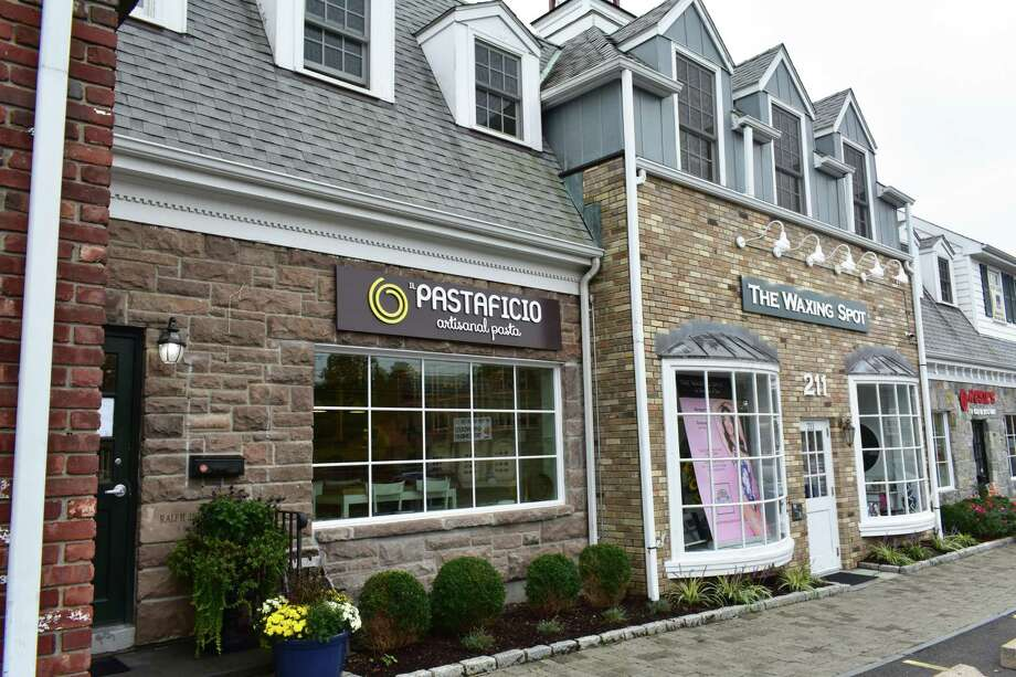 The newly opened Pastaficio Artisanal Pasta at the Mill Pond Shopping Center. Photo: Alexander Soule, Hearst Connecticut Media / Stamford Advocate