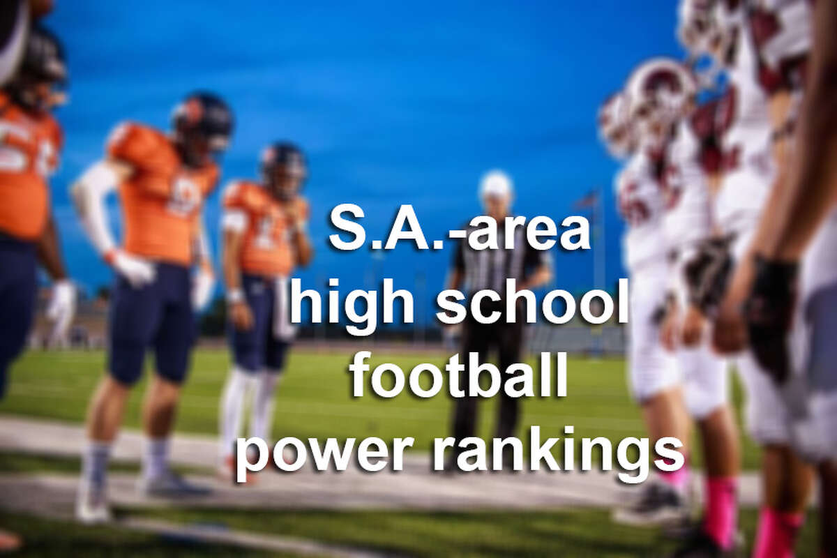 Get ready for Friday night football, because high school football is back. Click through the slideshow above to see the current rankings for San Antonio-area schools.