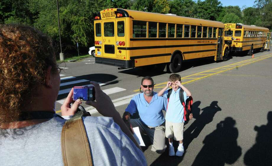 First day of school in West Haven in this file photo. Photo: Peter Hvizdak / New Haven Register / ©Peter Hvizdak /  New Haven Register
