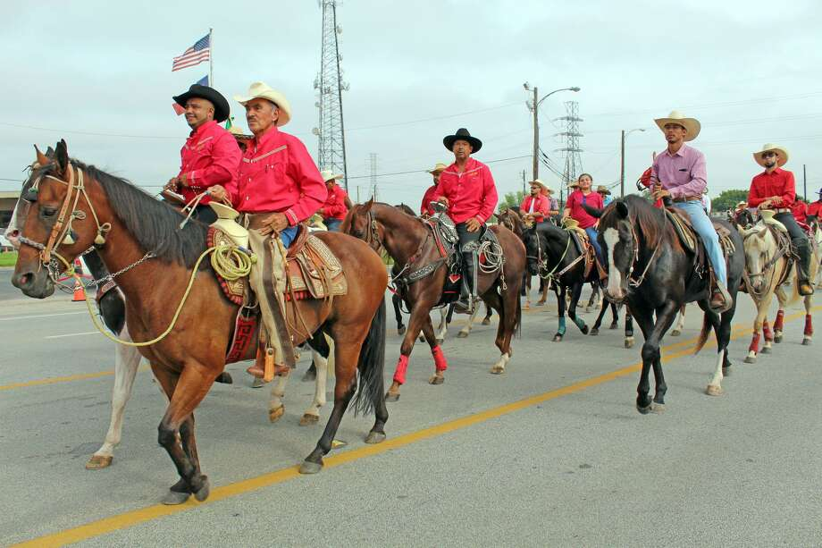 The Fort Bend County Fair Parade made its way through Rosenberg after starting in Richmond on Friday, Sept. 28, 2018. The fair and rodeo has been canceled for 2020 due to the ongoing COVID-19 pandemic. Photo: Kristi Nix / Staff Photo