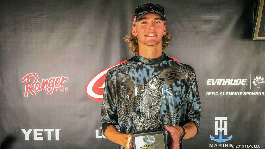 The Woodlands native Joe Beebee poses for a picture after winning the T-H Marine FLW Bass Fishing League (BFL) Cowboy Division tournament on Toledo Bend Lake Sunday. (Photo provided by BFL) Photo: BFL
