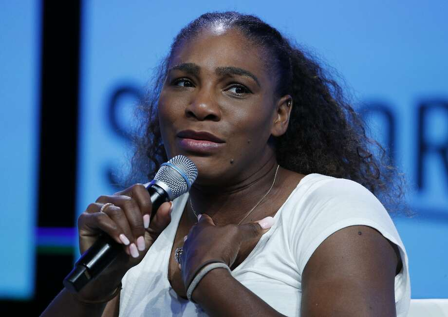 FILE - In this Sept. 14, 2018, file photo, tennis star Serena Williams speaks in Las Vegas.  Photo: John Locher, Associated Press