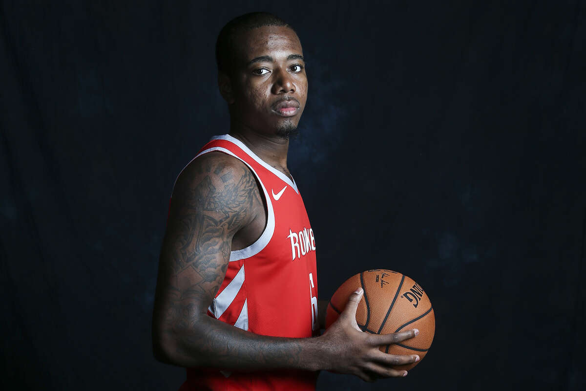 With an exhibit 10 contract, Gary Clark is among the Rockets' candidates for a two-way contract with the Rio Grande Valley Vipers.