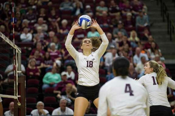 Seven Lakes graduate Camille Conner recorded 32 assists, nine kills and seven digs in her first NCAA match, a sweep of Sam Houston State. Conner has continued to excel as a sophomore with the Aggies, earning SEC Setter of the Week honors.